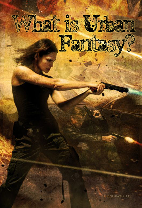 What is urban fantasy