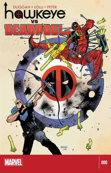 Hawkeye vs. Deadpool mini-series by Gerry Duggan