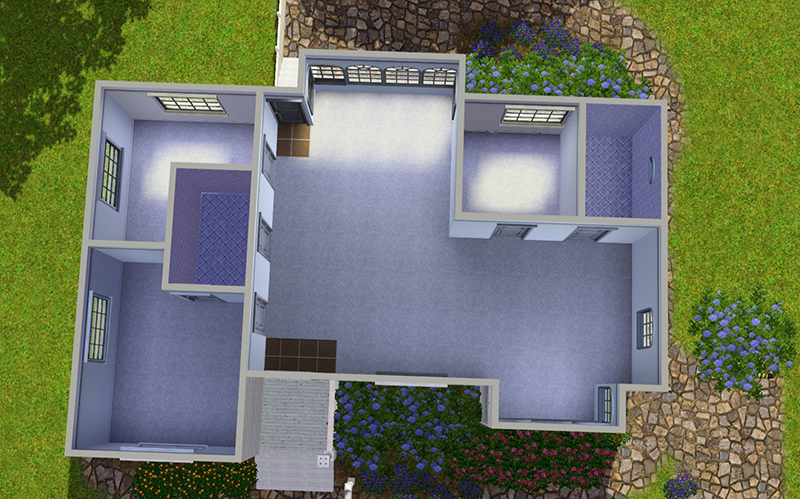 Simple sims 3 house layouts placement house plans 84894 for Simple sims 3 house plans